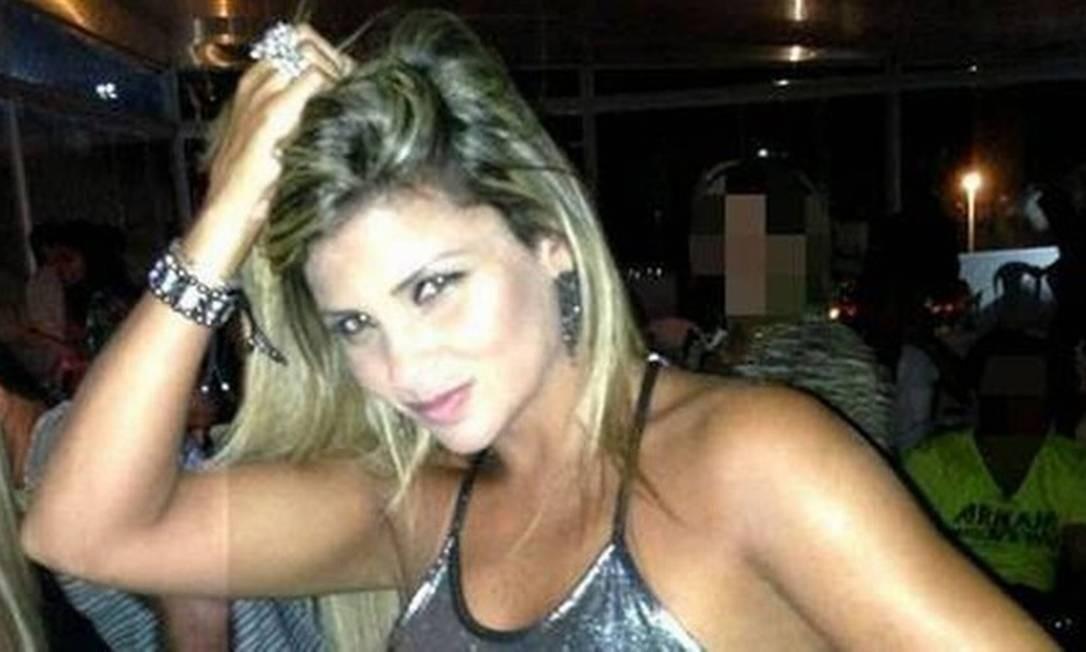 Danubia, mulher de Nem da Rocinha Foto: Reprodução