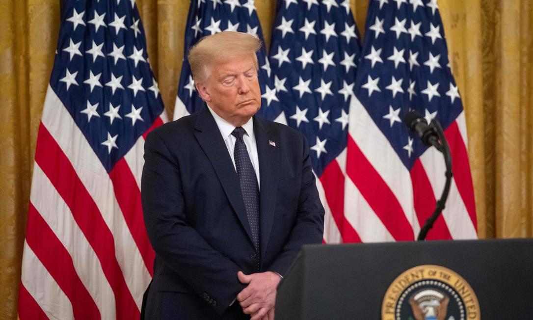 Donald Trump, presidente dos EUA Foto: Saul Loeb / AFP