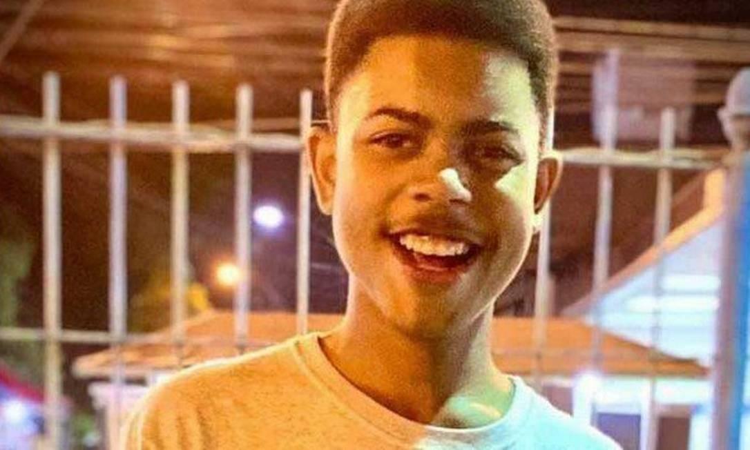 O adolescente João Pedro Matos Pinto, de 14 anos, morreu ao ser atingido nas costas durante uma operação das polícias Federal e Civil no Complexo do Salgueiro, em São Gonçalo, Região Metropolitana do Rio, no dia 18 de maio. Segundo parentes, agentes invadiram a casa onde ele estava e saíram atirando. Foto: Reprodução