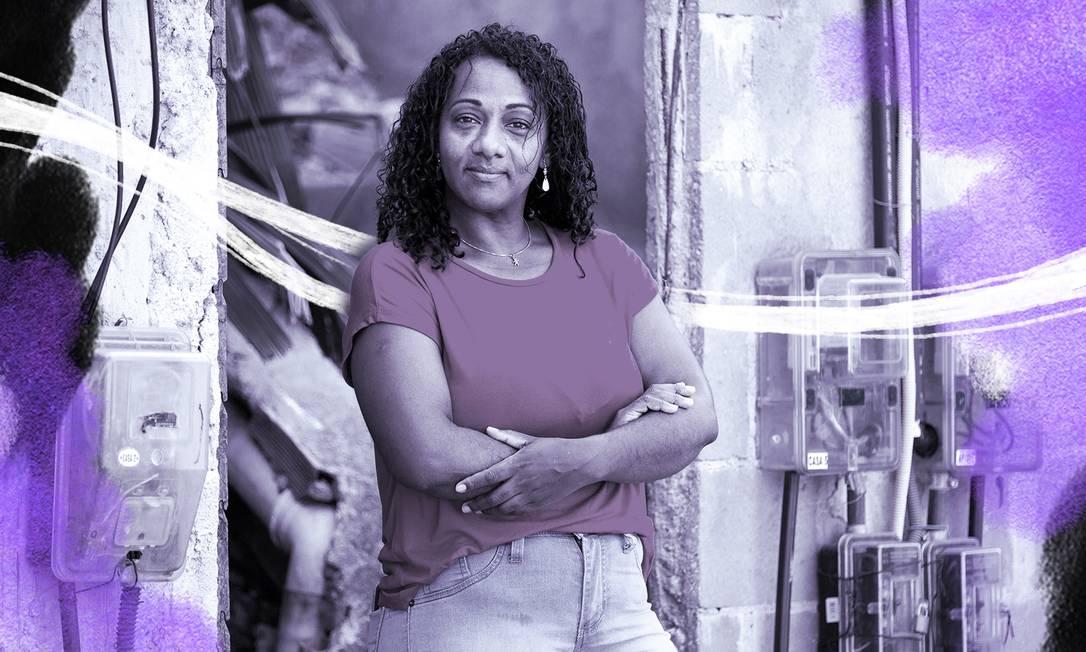 Márcia da Conceição Gomes, 47 anos, trabalhava como empregada doméstica há quase 12 anos para a mesma família e foi demitida no final de abril Foto: Leo Martins / Agencia O Globo