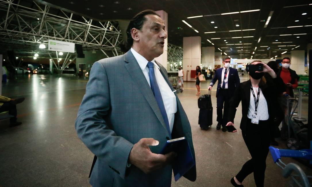 O Advogado Frederick Wassef que defende Flávio e Jair Bolsonaro 18/06/2020 Foto: Pablo Jacob / Agência O Globo