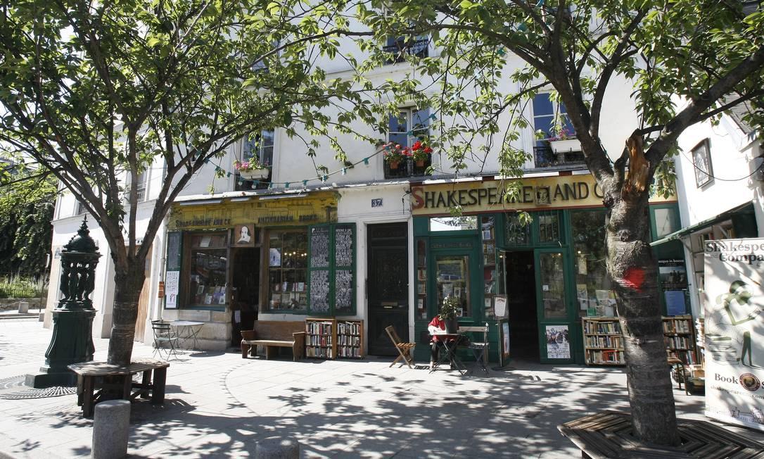 A livraria parisiense Shakespeare and Company Foto: Remy de la Mauviniere / AP