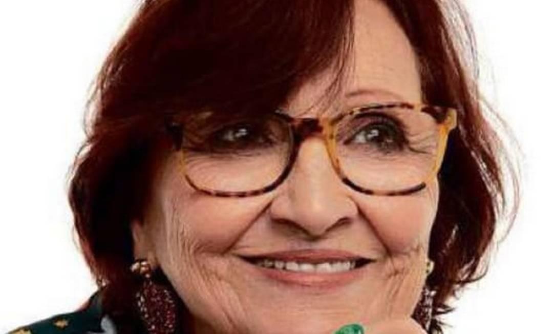 Déa Lúcia, mãe de Paulo Gustavo e avó de Romeu e Gael: planos de shows beneficentes Foto: Divulgação/Fábio Bartelt