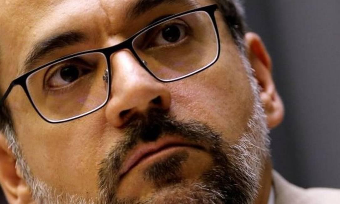 O ex-ministro da Educação Abraham Weintraub Foto: Reuters