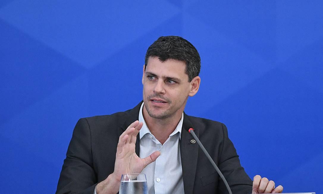 O secretário do Tesouro Nacional, Bruno Funchal Foto: Edu Andrade / Ministério da Economia