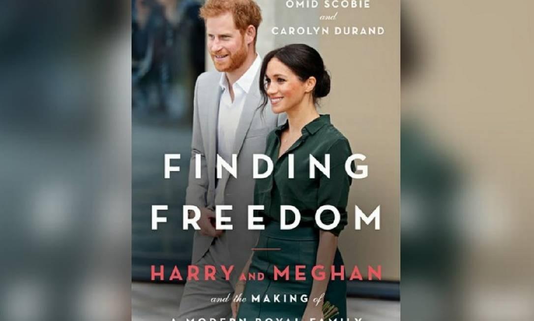 """Biografia """"Finding Freedom"""", que fala sobra a saída de Harry and Meghan da família real Foto: Reprodução"""