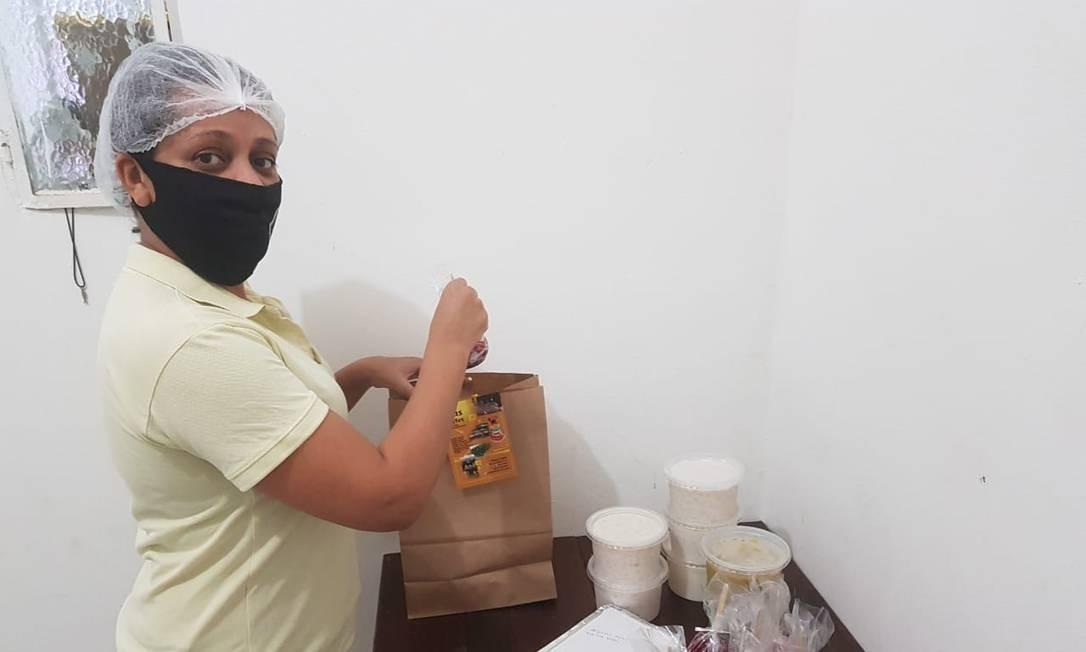 Eliane Xavier: Aumentou a produção e cardápio e está vendendo mais que em maio Foto: Divulgação