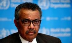 O diretor-geral da OMS, Tedros Adhanom Foto: Denis Balibouse / REUTERS/28-02-2020