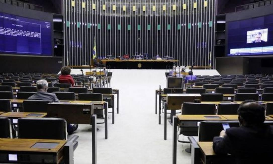 Congresso Nacional Foto: NAJARA ARAUJO/CÂMARA DOS DEPUTADOS