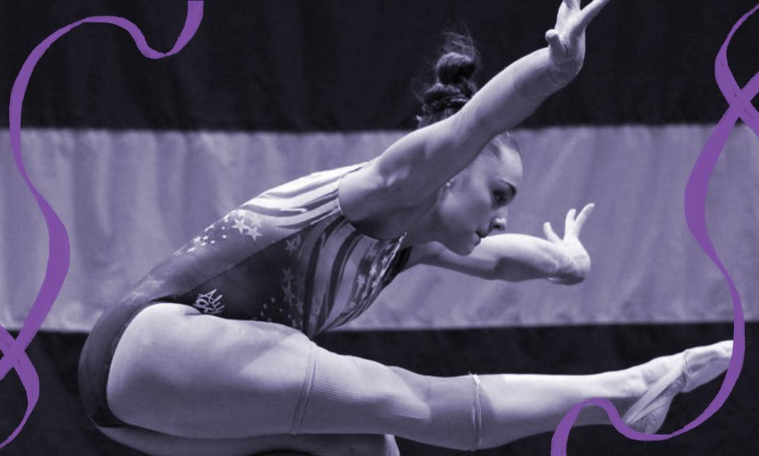 A ginasta americana Maggie Nichols, primeira a denunciar abusos do médico Larry Nassar Foto: Divulgação/Netflix