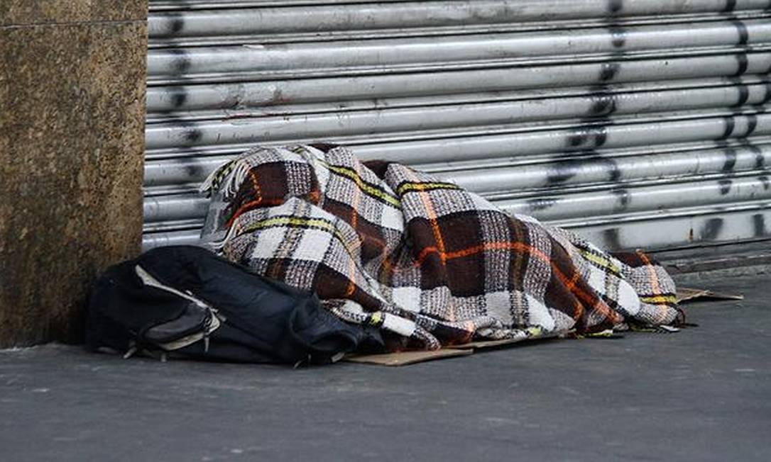 Morador de rua Foto: Fábio Vieira / Agência O Globo