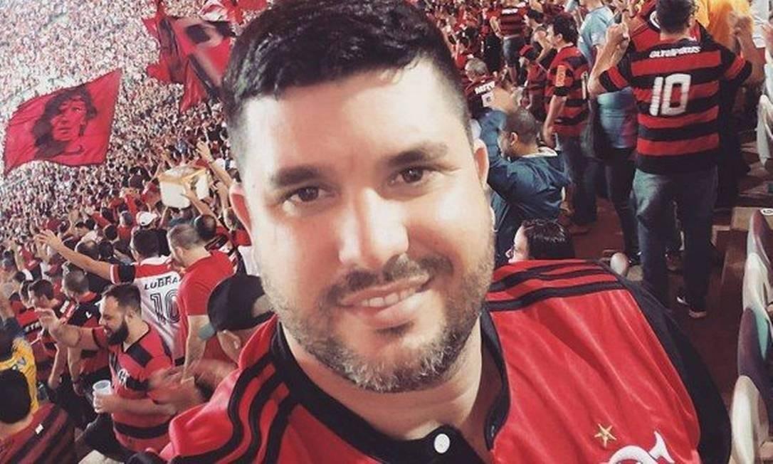 Leandro foi morto após entregar após entregar cesta básica a colega Foto: Facebook / Reprodução