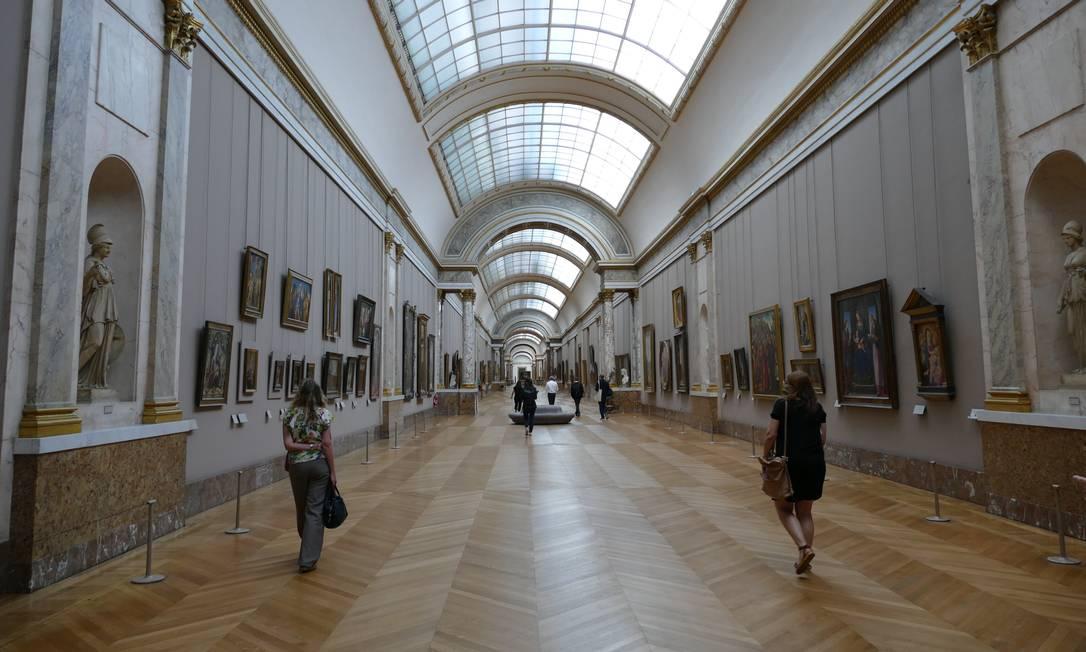 O público deverá permanecer em distanciamento dentro do museu Foto: Fernando Eichenberg / Agência O Globo
