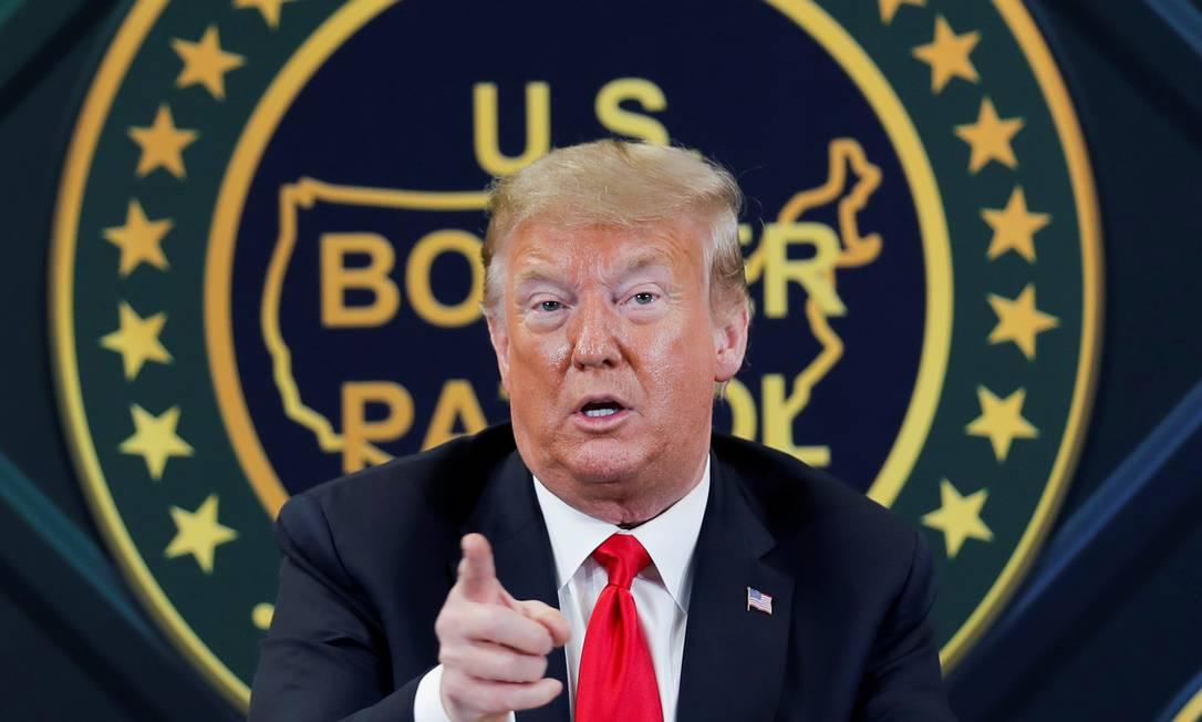 Presidente americano Donald Trump Foto: CARLOS BARRIA / REUTERS