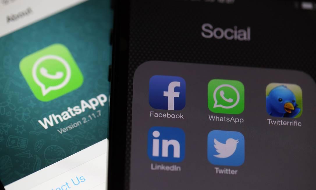 """O uso do WhatsApp para pagamentos foi anunciado na última segunda-feira. """"Tão fácil como o compartilhamento de uma foto"""" Foto: Chris Ratcliffe / Bloomberg"""