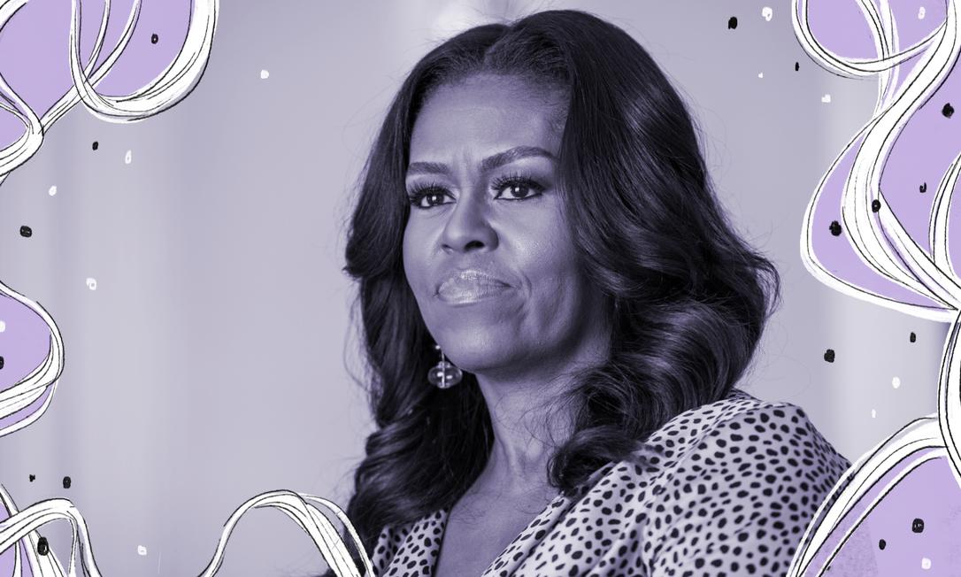 'As pessoas estão confusas, com raiva ou simplesmente sobrecarregadas. Eu também estou', desabafou Michelle Obama Foto: NYT