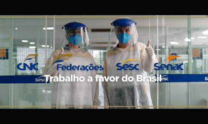 Trabalho a favor do Brasil entra em sua segunda fase Foto: Divulgação CNC
