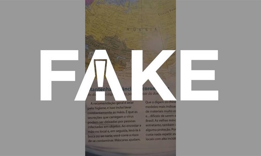 É #FAKE que edição de revista publicada em 2003 fale do novo coronavírus Foto: Reprodução