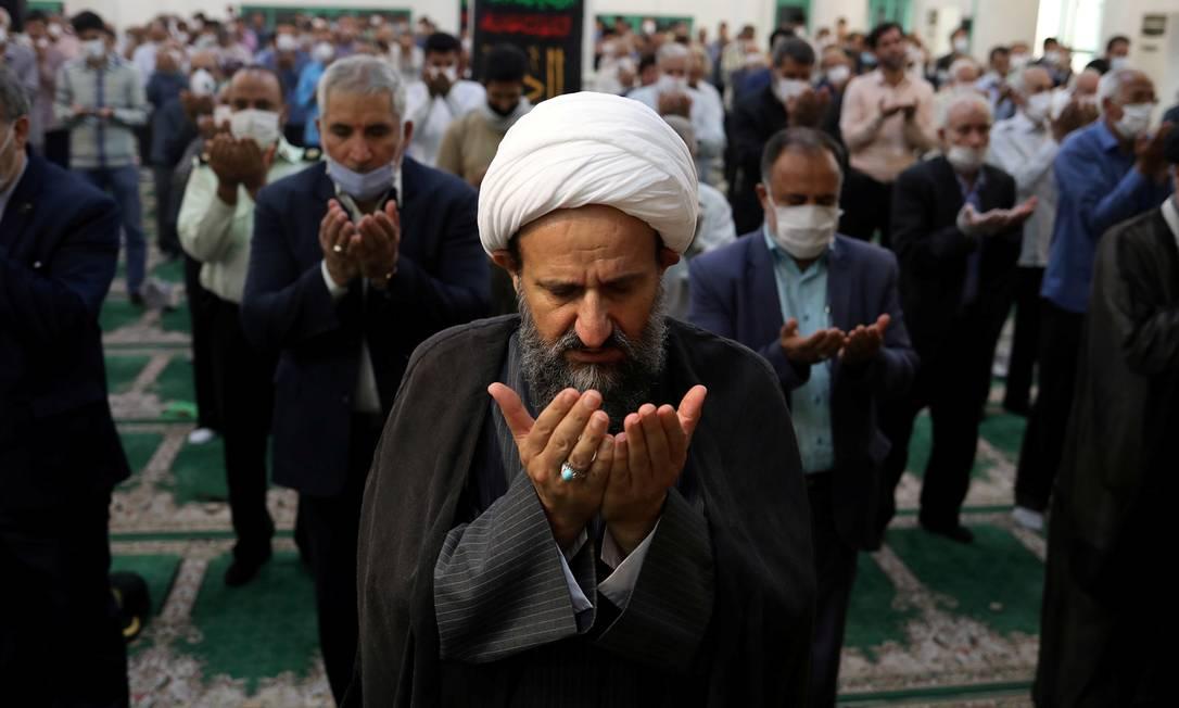 Casos da Covid-19 no Irã voltam a subir Foto: Wana News Agency / VIA REUTERS