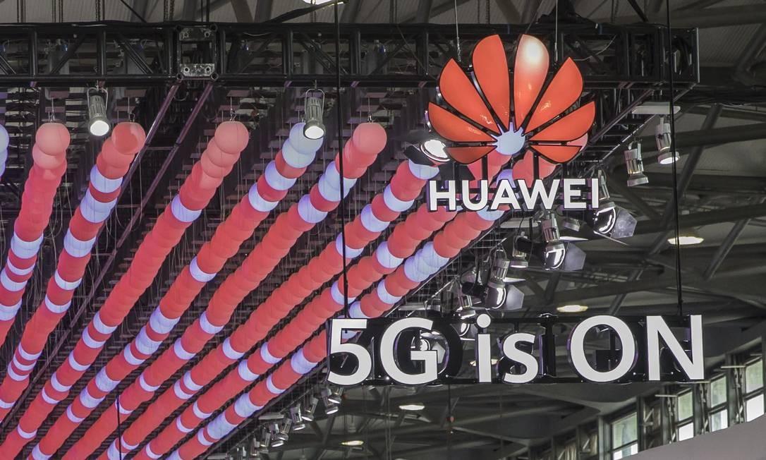 Huawei: alvo dos Estados Unidos na corrida para a tecnologia 5G Foto: Qilai Shen / Bloomberg
