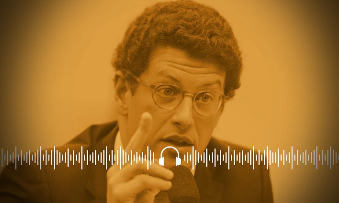 Em reunião ministerial, Salles defendeu aproveitar a pandemia para ´passar a boiada' Foto: Arte