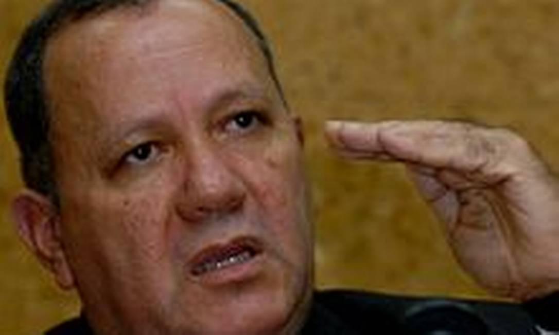 O ex-ministro das Minas e Energia Silas Rondeau Foto: Agência Brasil