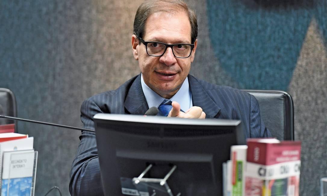 O Ministro Luis Felipe Salom?o, do Superior Tribunal de Justi?a (STJ), participa da live, na próxima segunda (29) nas redes sociais do Globo. Foto: GUSTAVO LIMA / Divulga??o