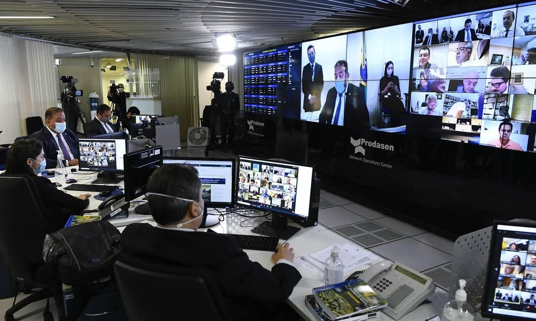 Senado promoveu consulta pública sobre Lei das Fake News Foto: Leonardo Sá/Agência Senado