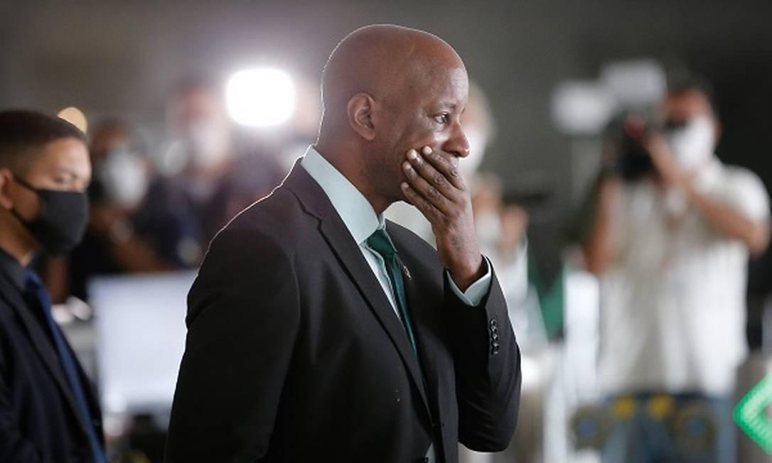 Sérgio Camargo, presidente da Fundação Palmares Foto: Pablo Jacob/Agência O Globo