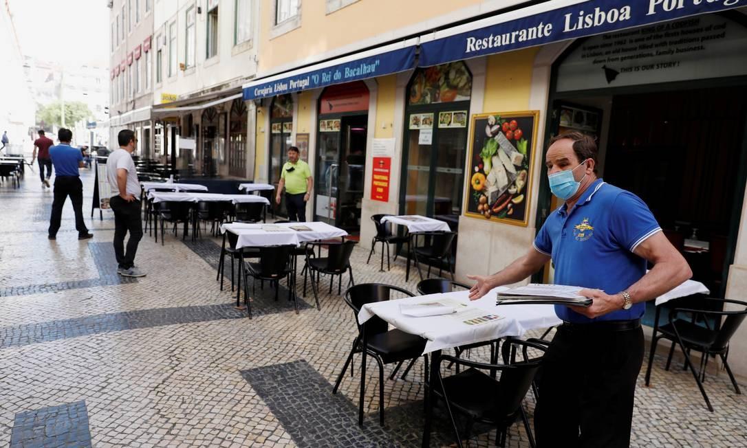 Governo português decreta volta do confinamento em 19 freguesias da Grande Lisboa Foto: Rafael Marchante / REUTERS