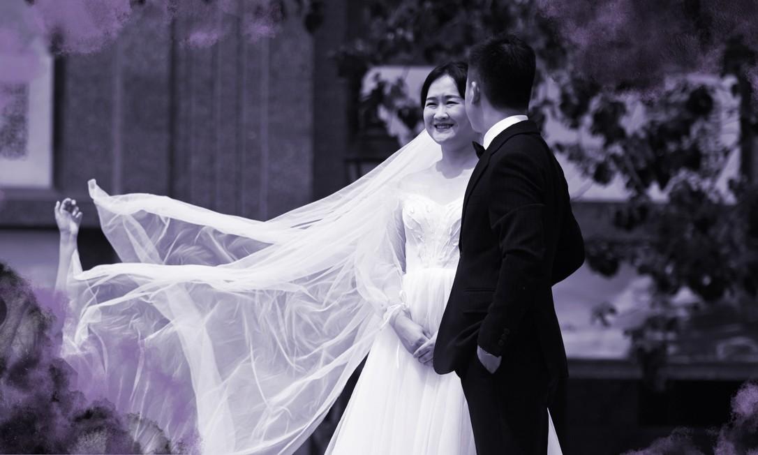 Uma pesquisa realizada pela Federação das Mulheres da China em 2011 mostrou que uma em cada quatro mulheres sofreu espancamentos, abuso verbal ou teve suas liberdades restringidas por seu parceiro Foto: AFP