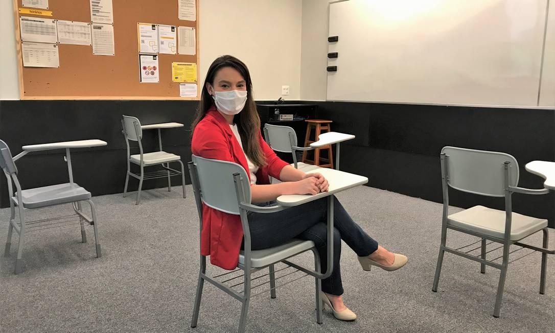 Antônia Burke, diretora de duas unidades do Colégio de A a Z, diz que foi criado um comitê para definir medidas de segurança Foto: Divulgação/Bernardo Stampa