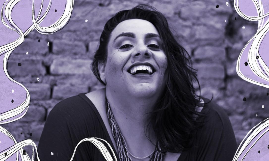 """Durante a quarentena, a atriz, dramaturga e diretora de teatro Eme Barbassa, de 38 anos, desenvolve o projeto de lives cênicas """"Phantasmagoria – O Amor nos Tempos de Esgotamento"""" Foto: Lisa Cristine"""