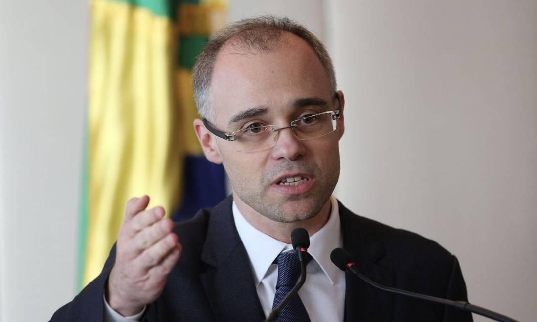 André Mendonça, ministro da Justiça Foto: Fábio Rodrigues Pozzebom/Agência Brasil