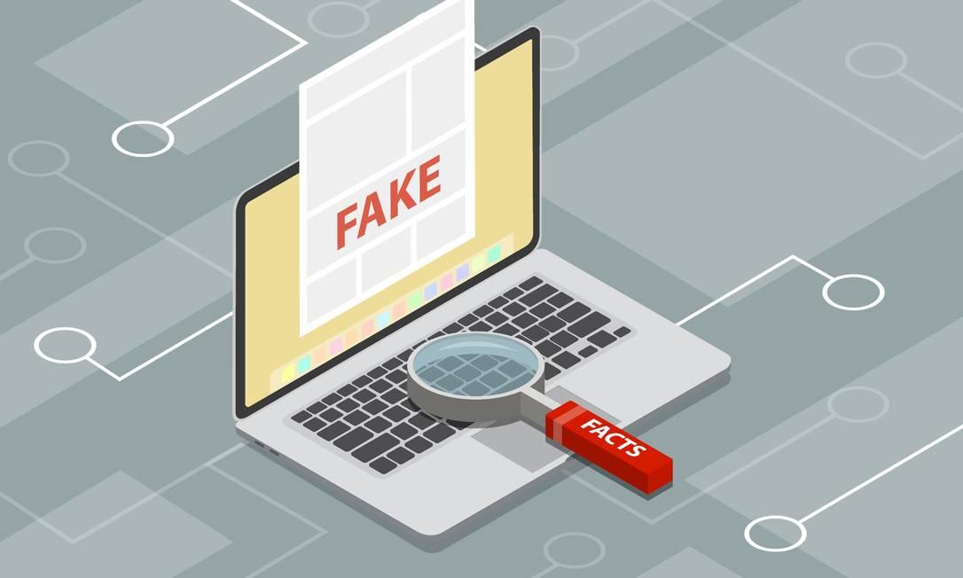 Asfake news, como um fenômeno sistemático e controlado, fazem parte de um processo depoluiçãodos modos de avaliar uma sociedade Foto: teguhjatipras / Getty Images/iStockphoto