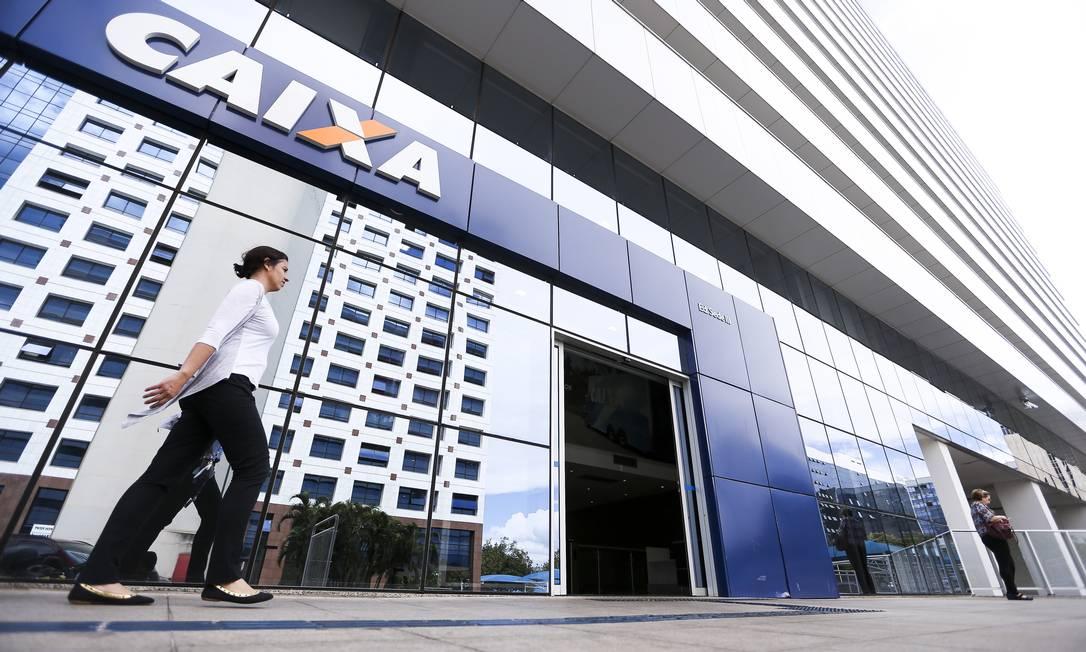 Edifício-sede da Caixa Econômica Federal, em Brasília. Banco terá nova loteria Foto: Marcelo Camargo / Agência Brasil