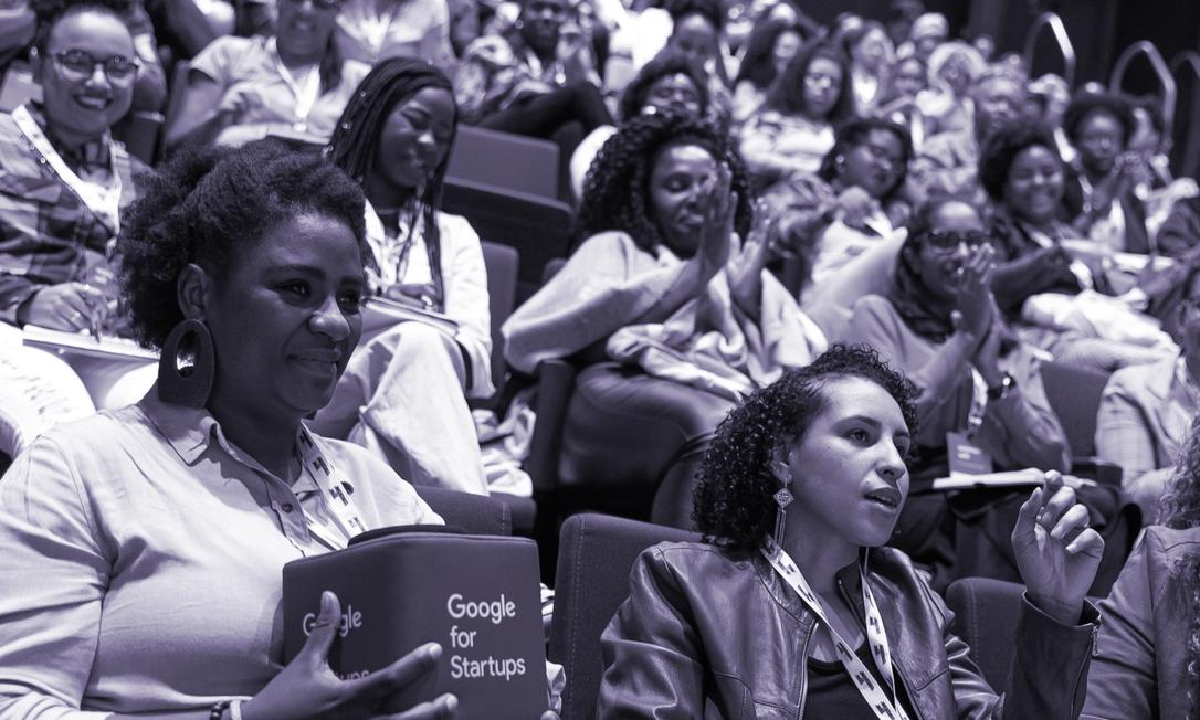 Investimento será destinado ao programa Potência Feminina, idealizado pelo Instituto Rede Mulher Empreendedora, com apoio do Google.org, braço filantrópico da gigante da tecnologia Foto: Reprodução RME/Google