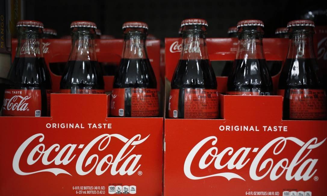 Em campanha contra o discurso de ódio nas plataformas digitais, Coca-Cola suspende todas as propagandas em redes sociais por 30 dias Foto: Luke Sharrett / Bloomberg