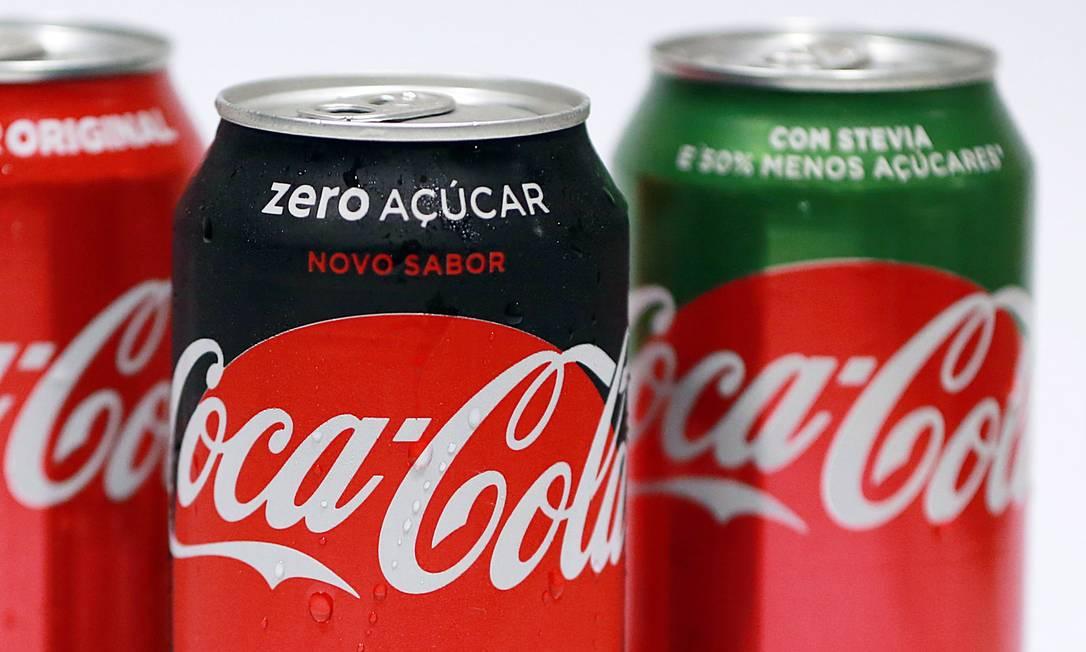Coca-Cola: gigante dos refrigerantes altera política de publicidade nas redes Foto: Lucas Tavares / Agência O Globo