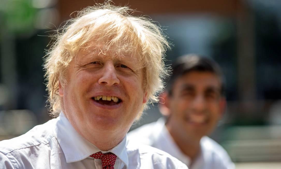 Os planos de Boris enfrentam mais obstáculos, mas ele insiste em adotar uma linha dura na negociação com a UE Foto: Heathcliff O'Malley / REUTERS