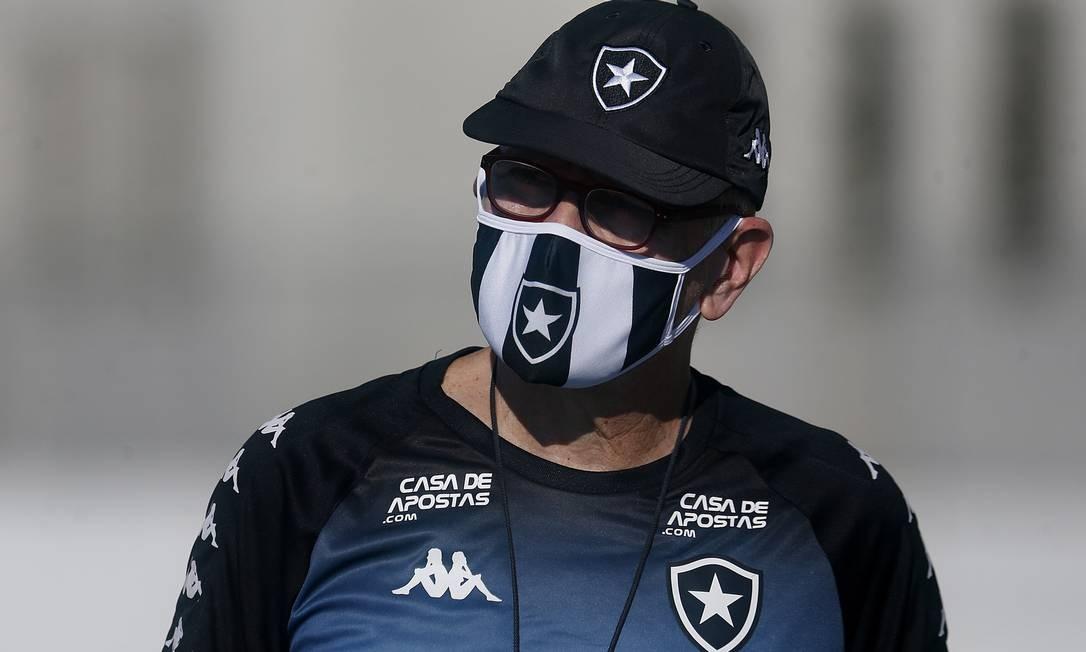 Paulo Autuori, técnico do Botafogo Foto: Vitor Silva/Botafogo/Divulgação/20.06.2020