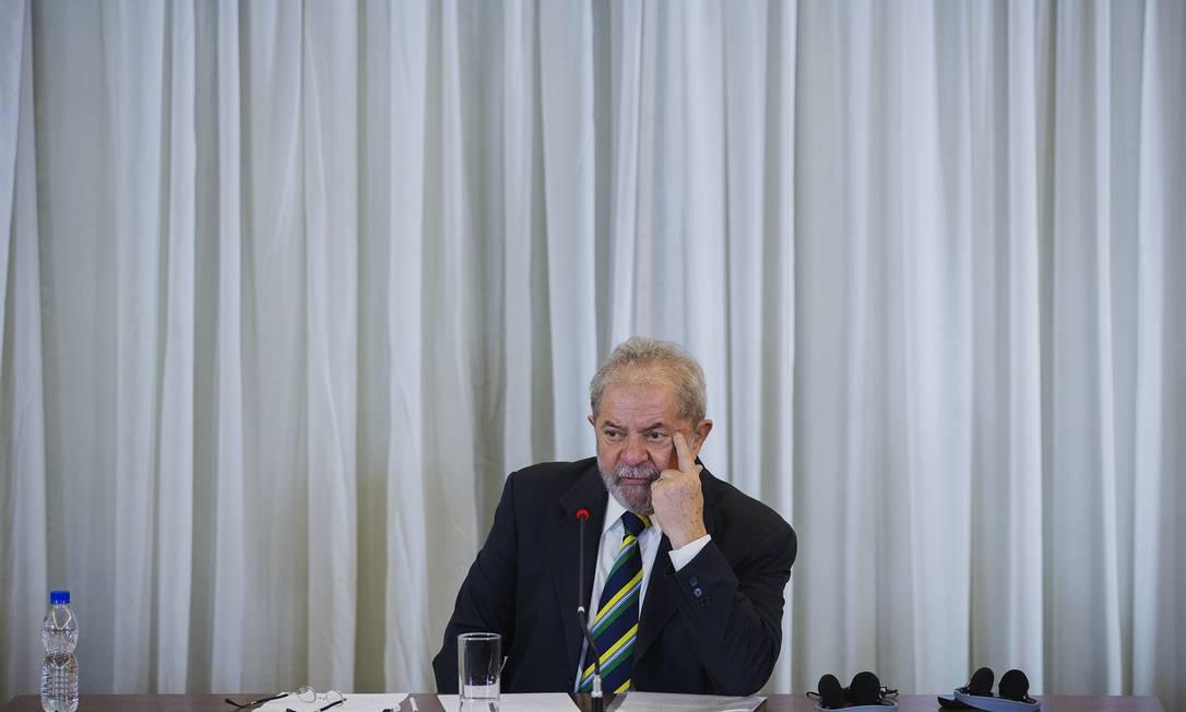 Grupo de assessores mais próximo à namorada do petista, Janja, tem sido influente junto ao ex-presidente Foto: LALO DE ALMEIDA / NYT