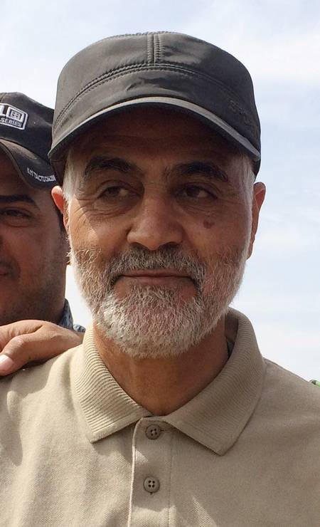 Uma das principais personalidades militares do Irã, Qassem Soleimani foi responsável por liderar operações militares iranianas no Oriente Médio como comandante da Força Quds, uma unidade de elite da Guarda Revolucionária do Irã Foto: Reuters