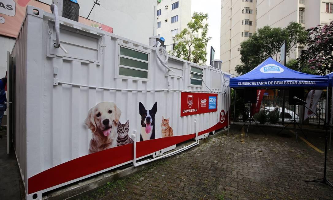Unidade de Saúde Veterinária inaugurada no Flamengo, na Zona Sul do Rio Foto: Marcos de Paula / Prefeitura do Rio