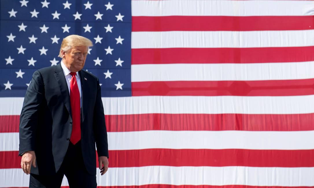 O presidente americano, Donald Trump Foto: SAUL LOEB / AFP/25-06-2020