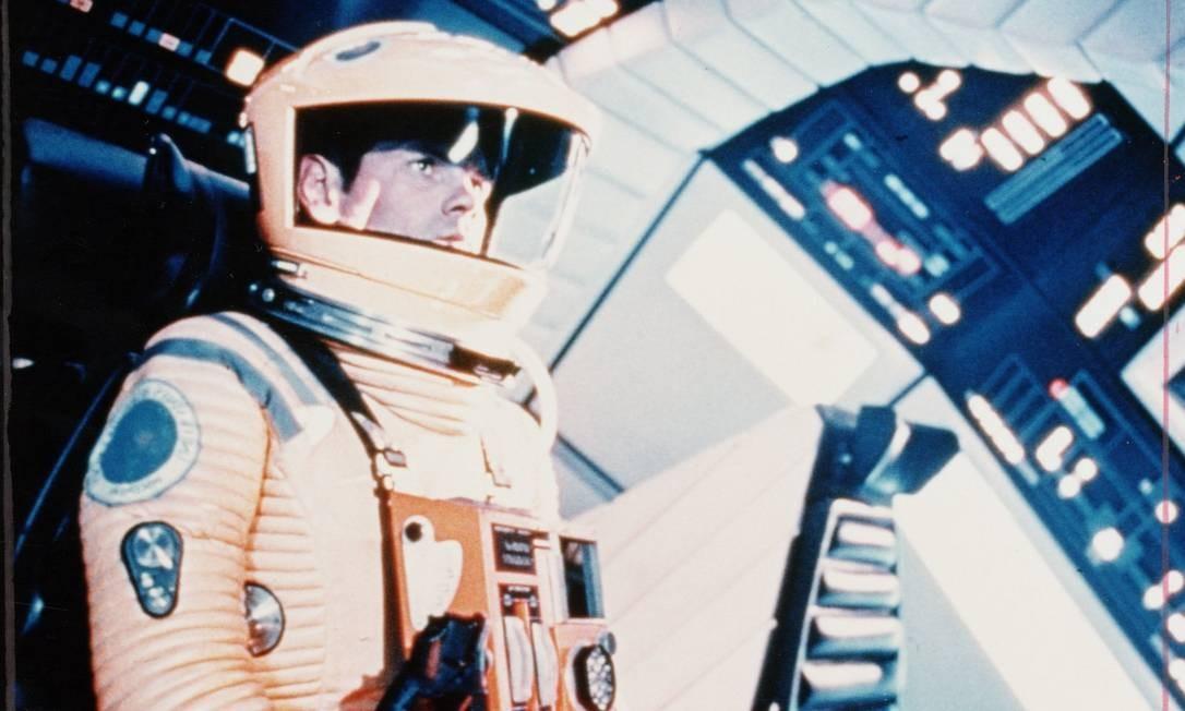 """Um dos trajes espaciais em cena do filme """"2001: uma odisseia no espaço"""", de Stanley Kubrick Foto: Divulgação"""