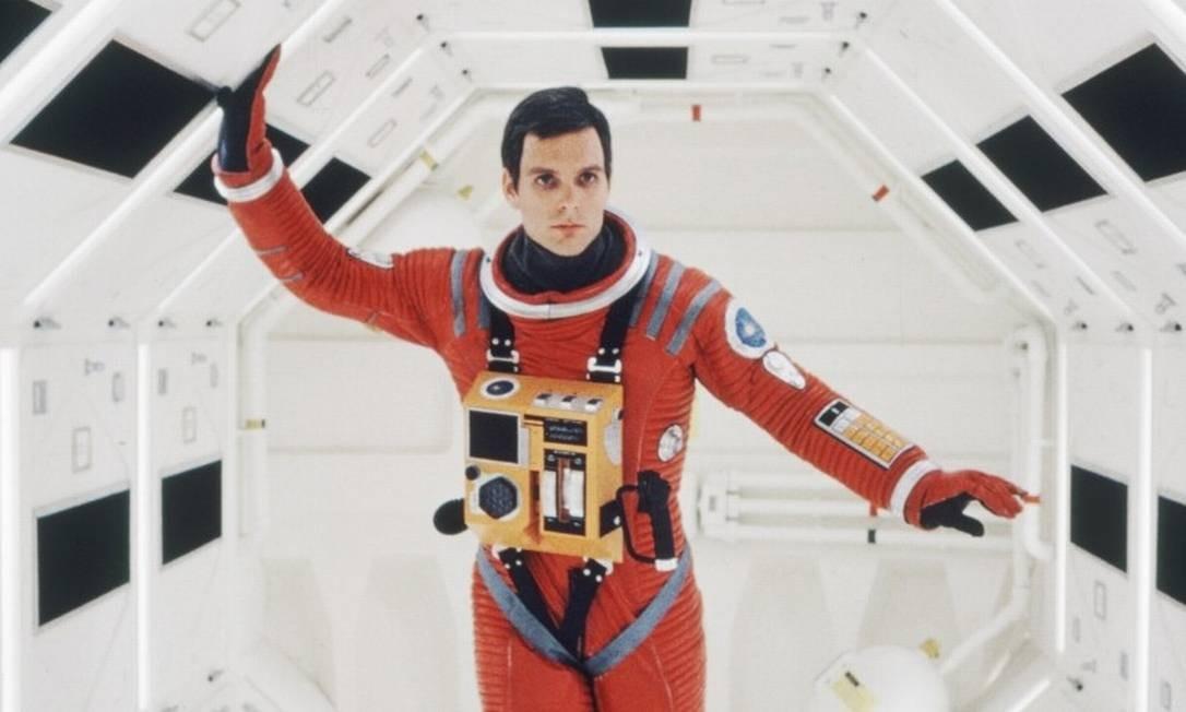 O ator Keir Dullea, que viveu o astronauta David Bowman Foto: Divulgação