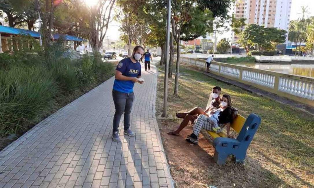 Decreto municipal prevê também uso obrigatório de máscaras nas ruas de Bragança Paulista Foto: Divulgação