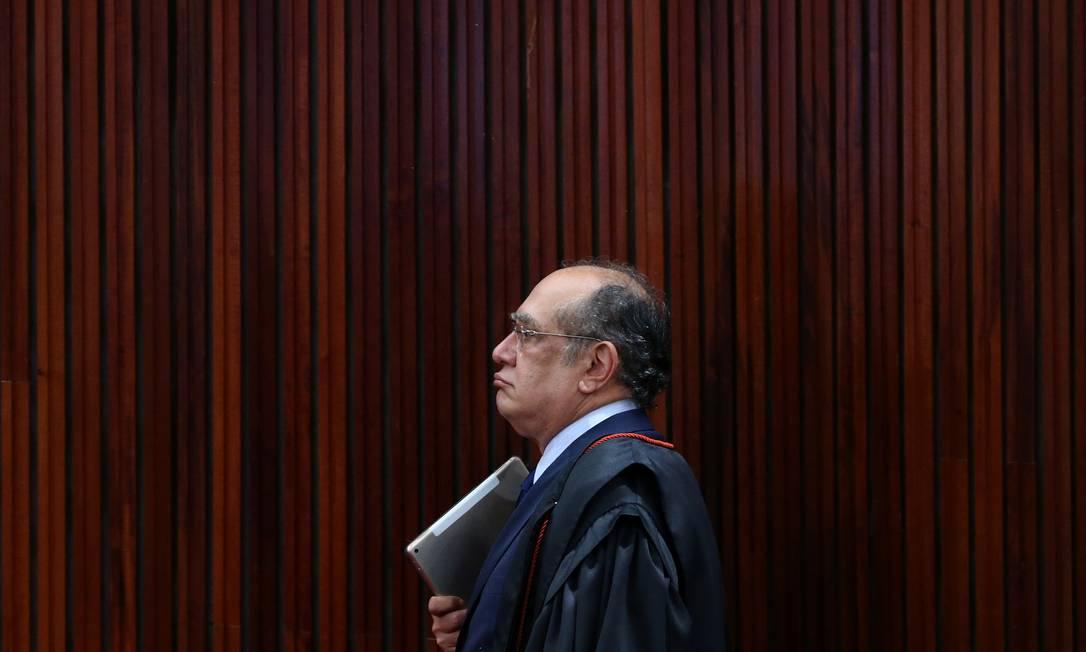 O ministro do STF Gilmar Mendes 9-6-2017 Foto: Adriano Machado / Reuters