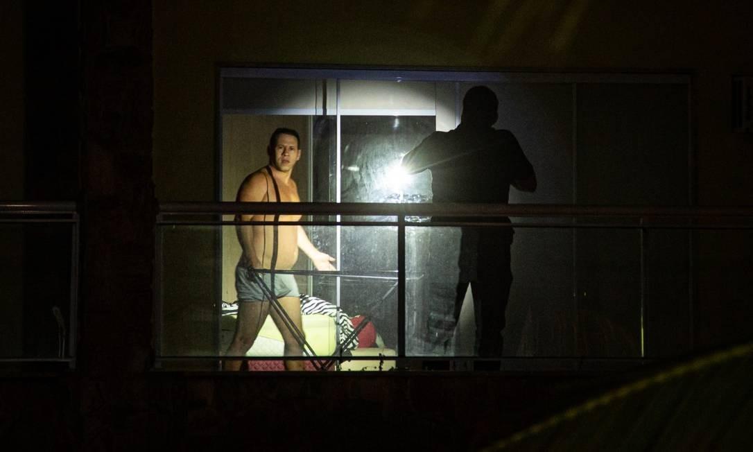 Mad foi preso em casa Foto: Hermes de Paula / Agência O Globo
